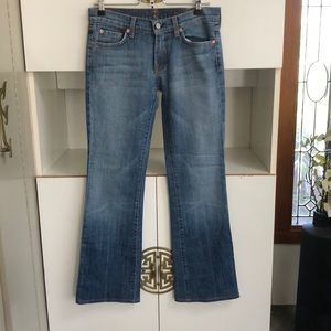 7 for all mankind Stretch Bootcut Jeans 28